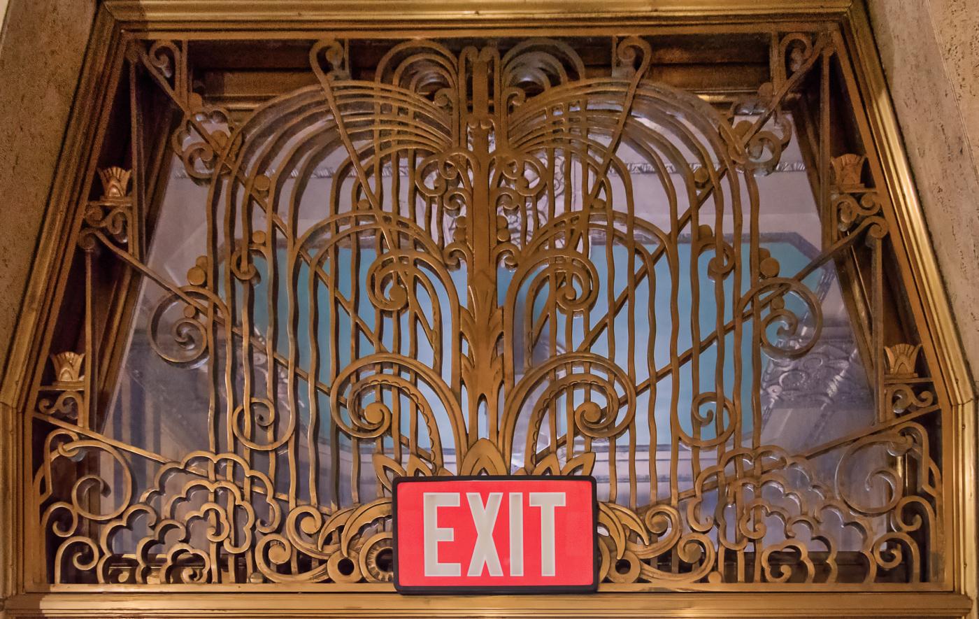 Ornamental Exit