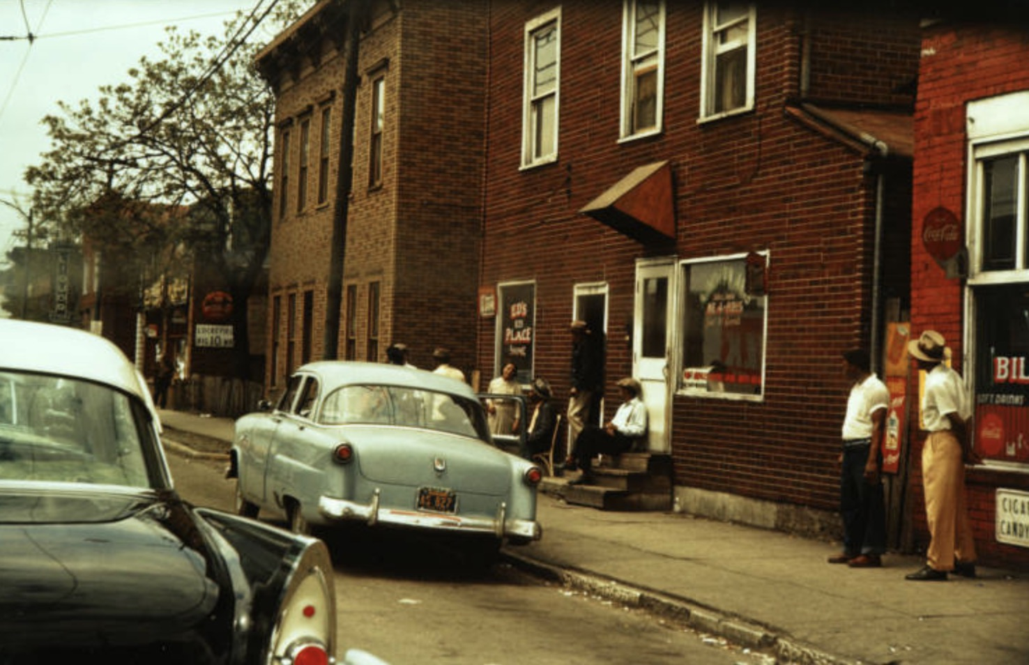 The 800 Block of Indiana Avenue, 1956.