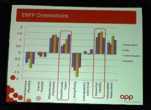 Screenshot from Betsy Kendall's presentation