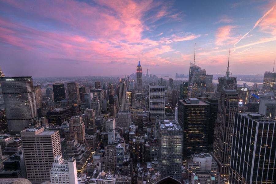 Top of the Rock - Rockefeller Center - New York