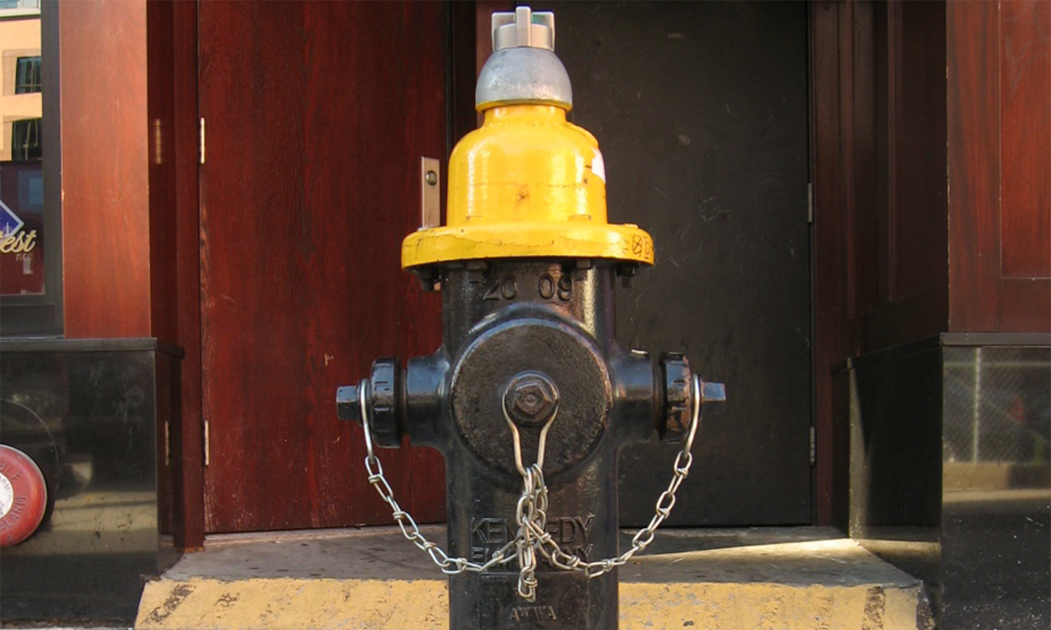We realized fire hydrants were something readily available and just the right height. But how to alter them?