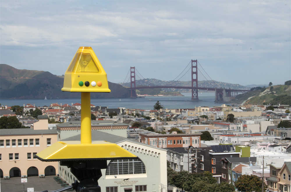One of the Baltic Lite Lights ready for action in San Francisco
