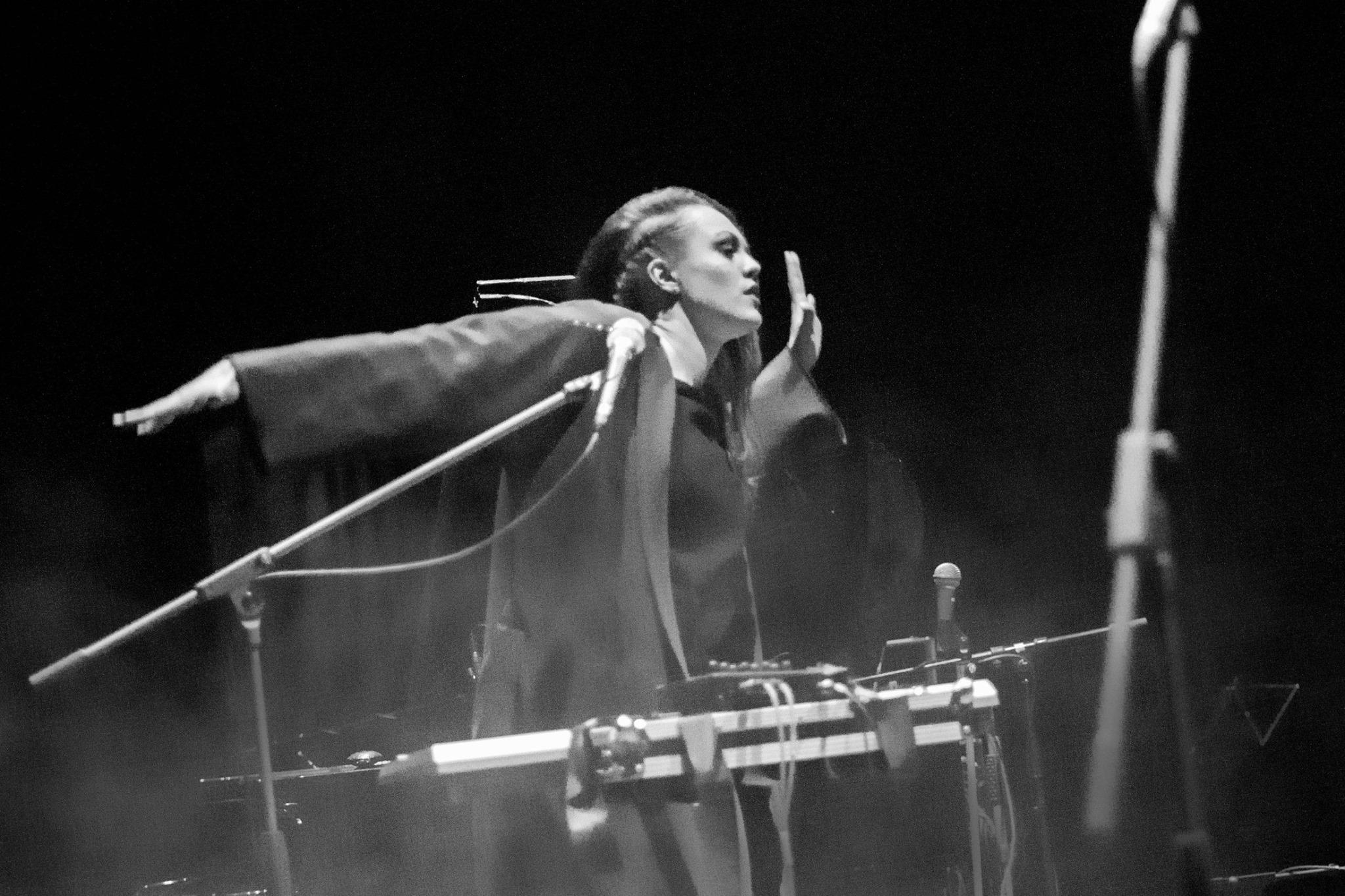 Ingrid Lukas at Tallinn Music Week 2015. Photo: Kaisa Keizars
