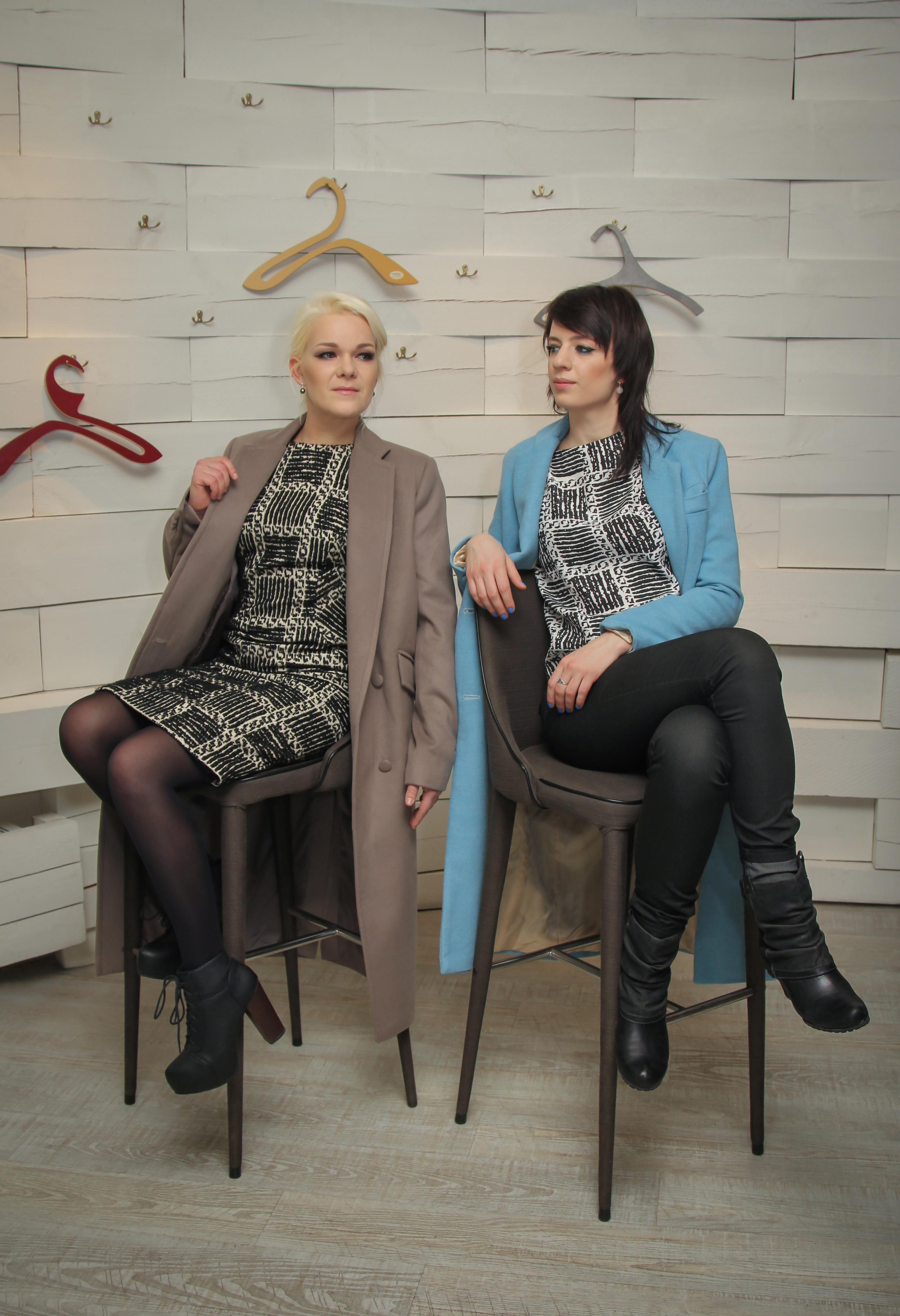 Dress and blouse: Uschanka