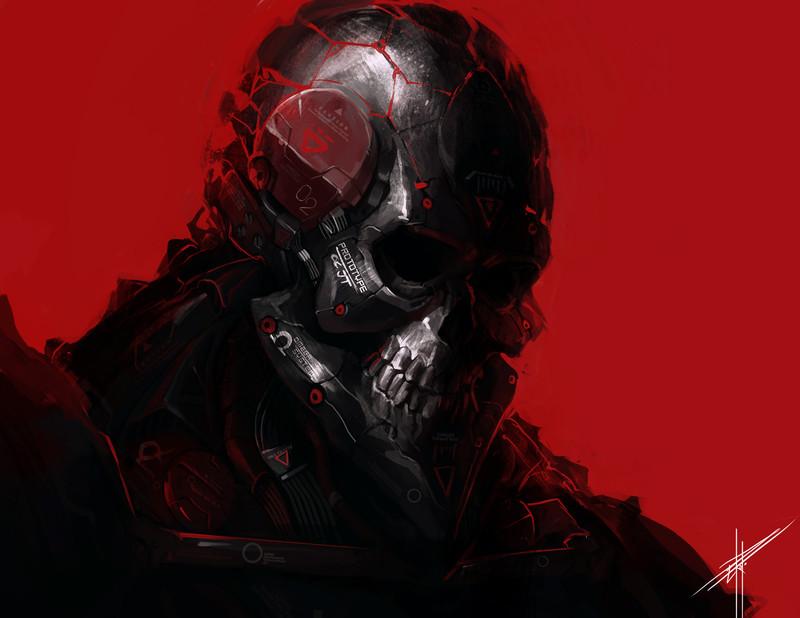 """Black Skull"" by Eriko Pedojan"