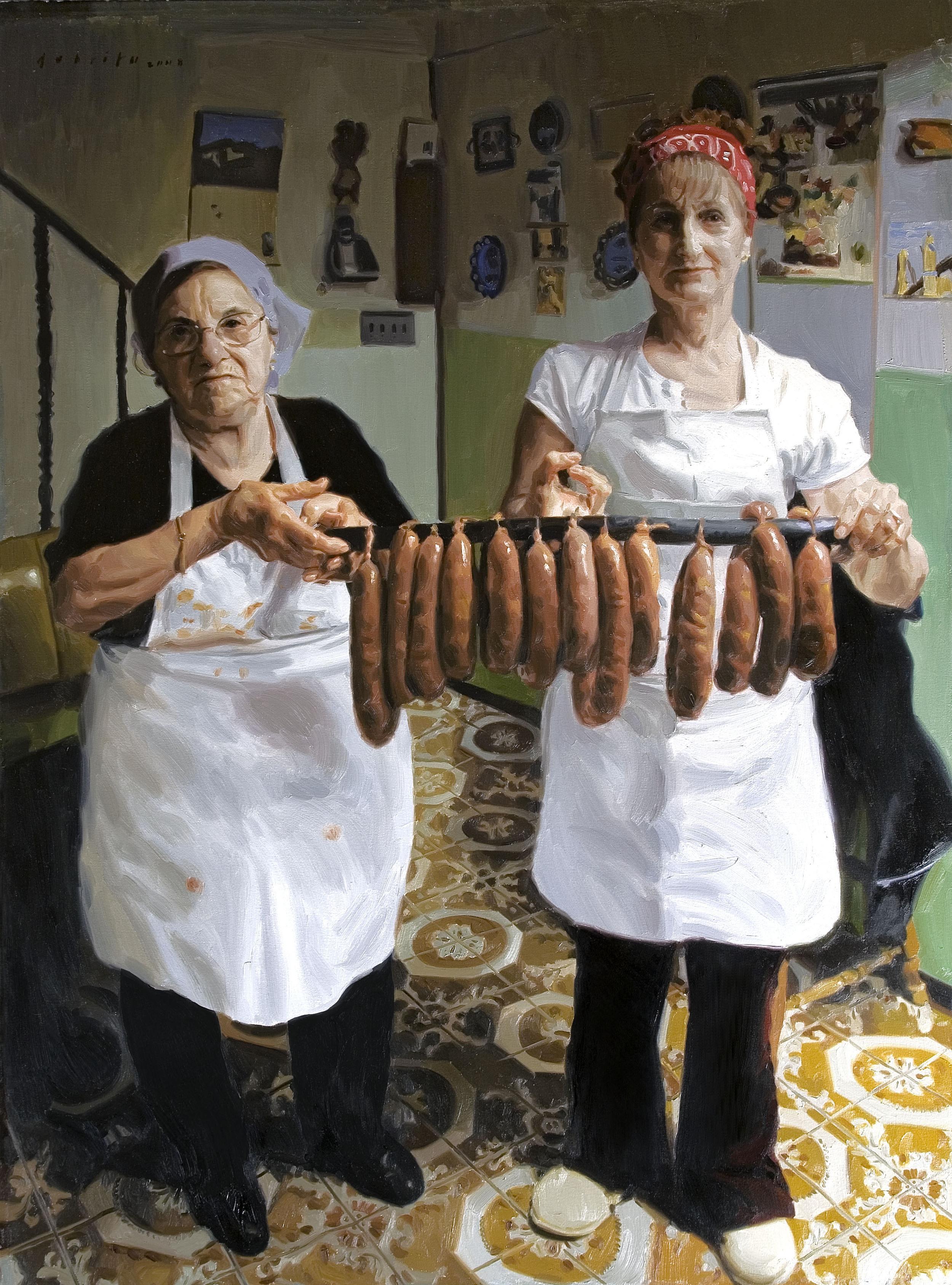 WOMEN WITH CHOURIÇOS