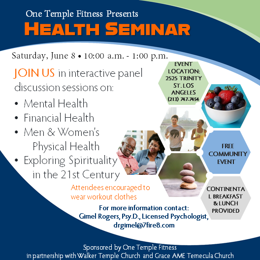 Health Seminar 2019