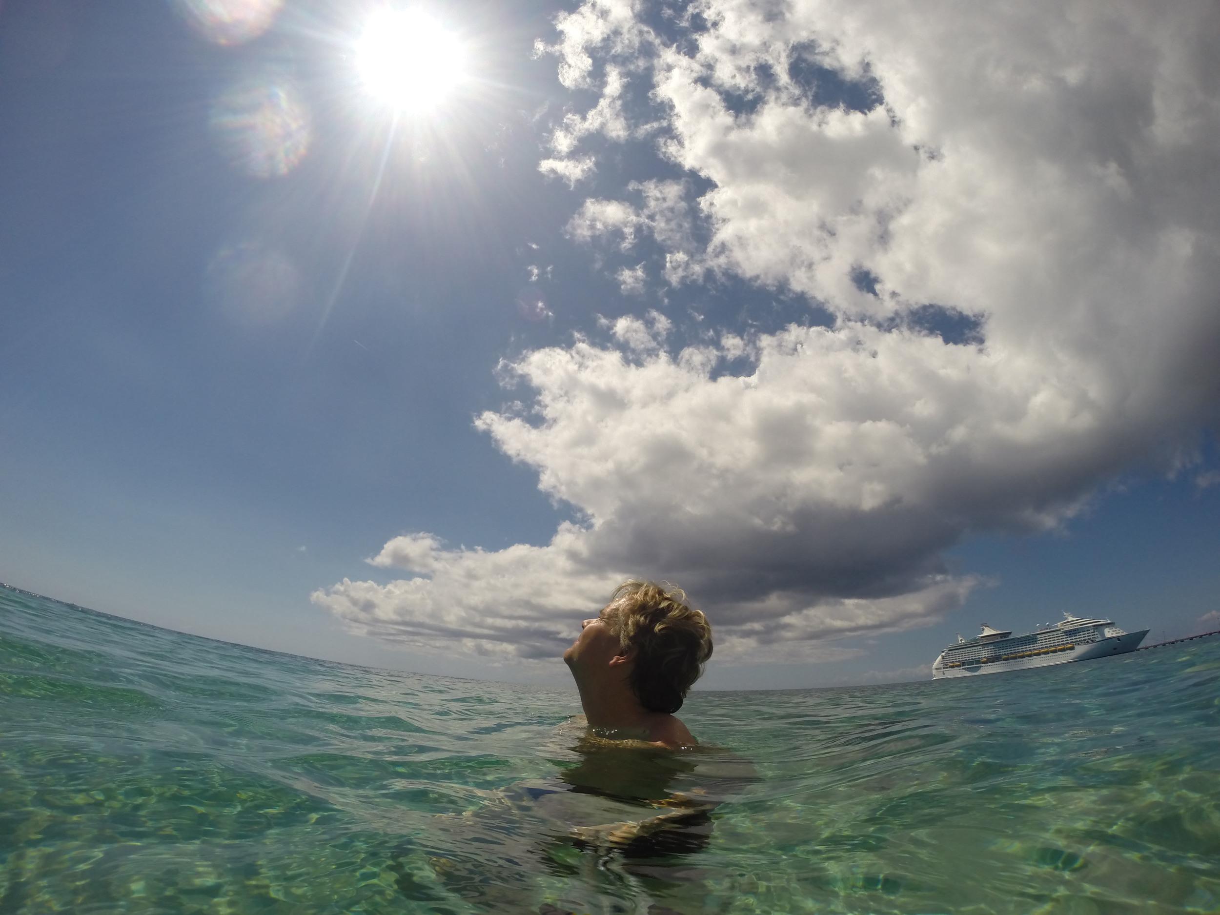 Sun, Sea, Sean, Ship