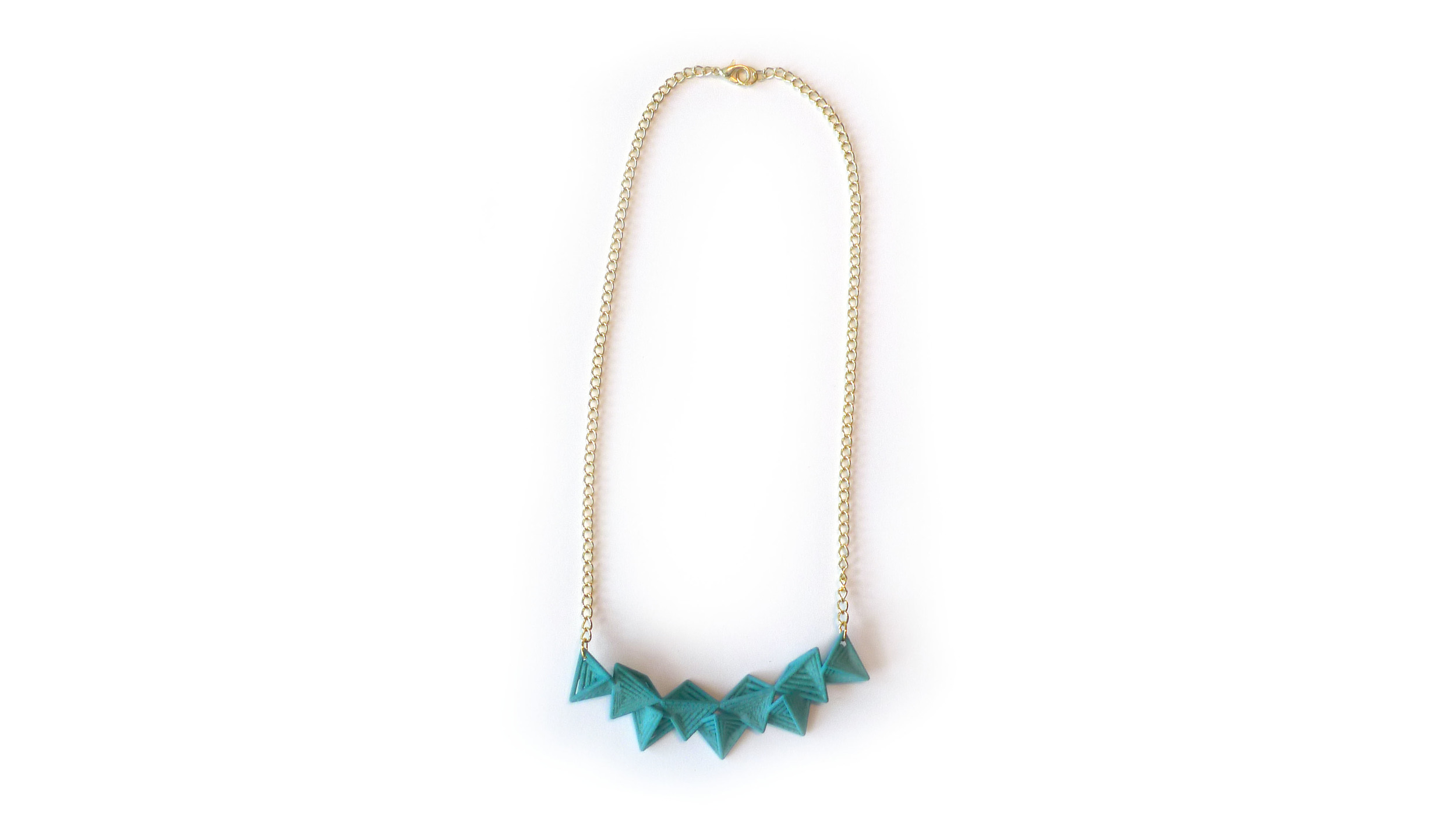 Tetryn Necklace (Bar)   6200: In Nylon $14