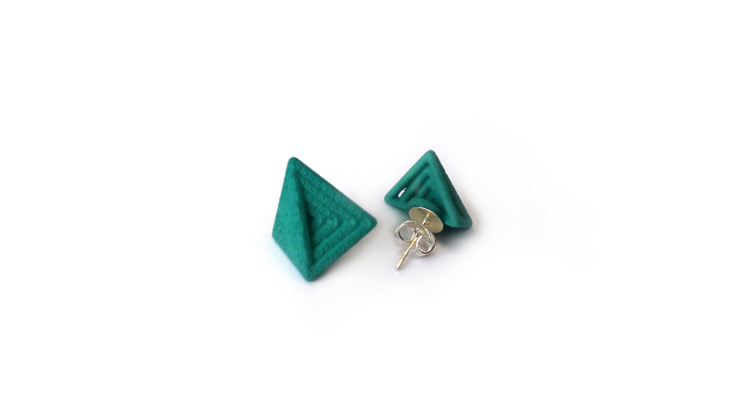 Tetryn Earrings (Mini Studs)   6450: In Nylon $9  6495: In Steel $44