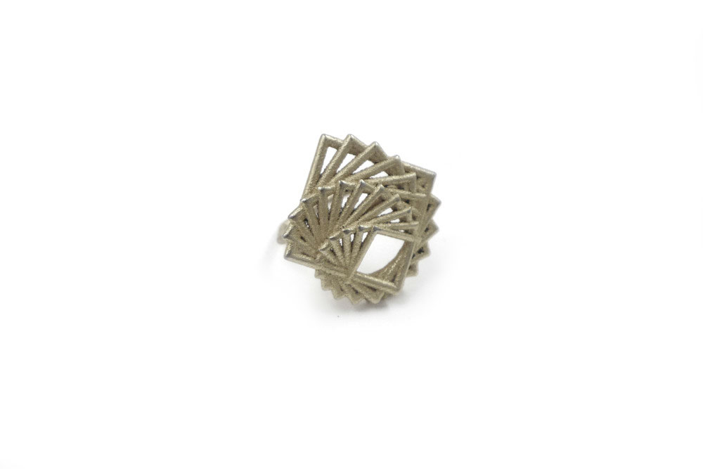 Arithmetic Ring   1590: In Steel $30