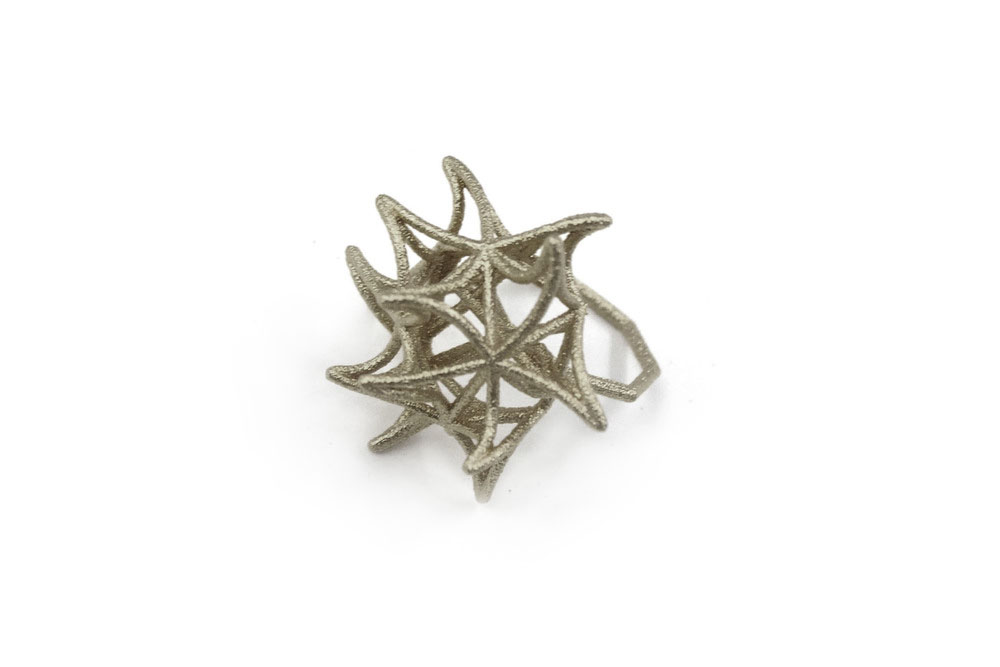Aster Ring (Small)   4590: In Steel $28