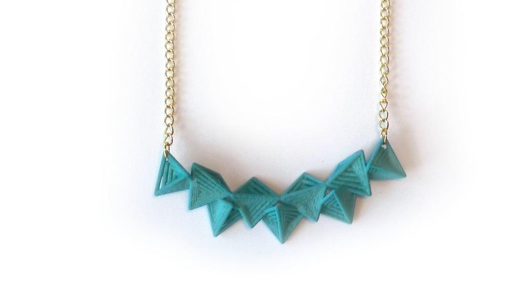Tetryn Necklace (Bar)   6200: In Nylon $14