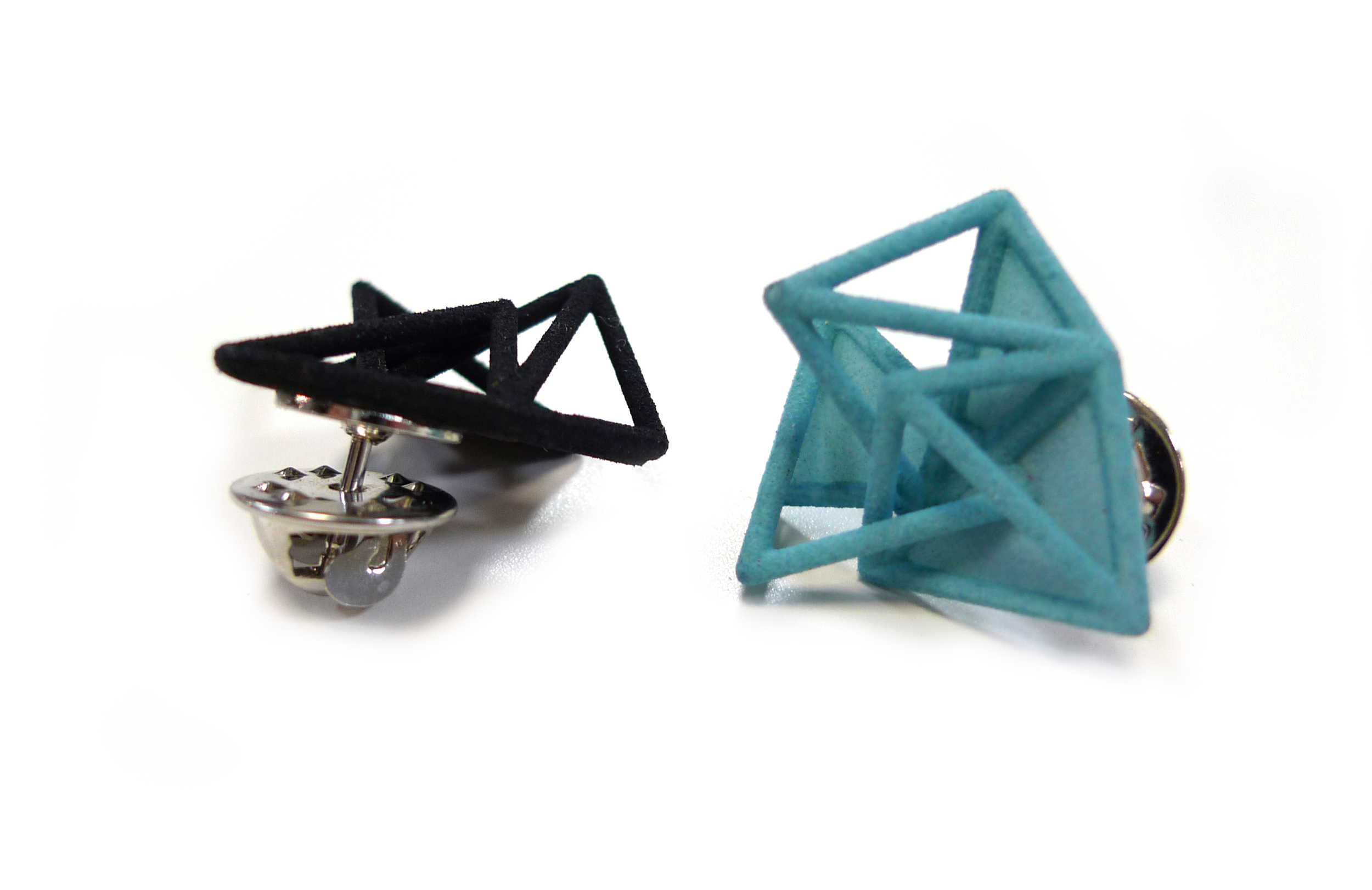 Tetryn Wireframe Cluster Pins   6960: In Nylon $5