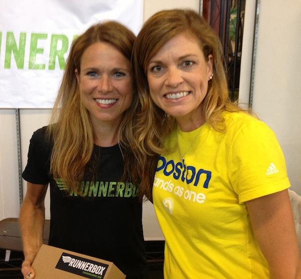Staci Dietzel and me at the 2013 San Francisco Marathon Expo