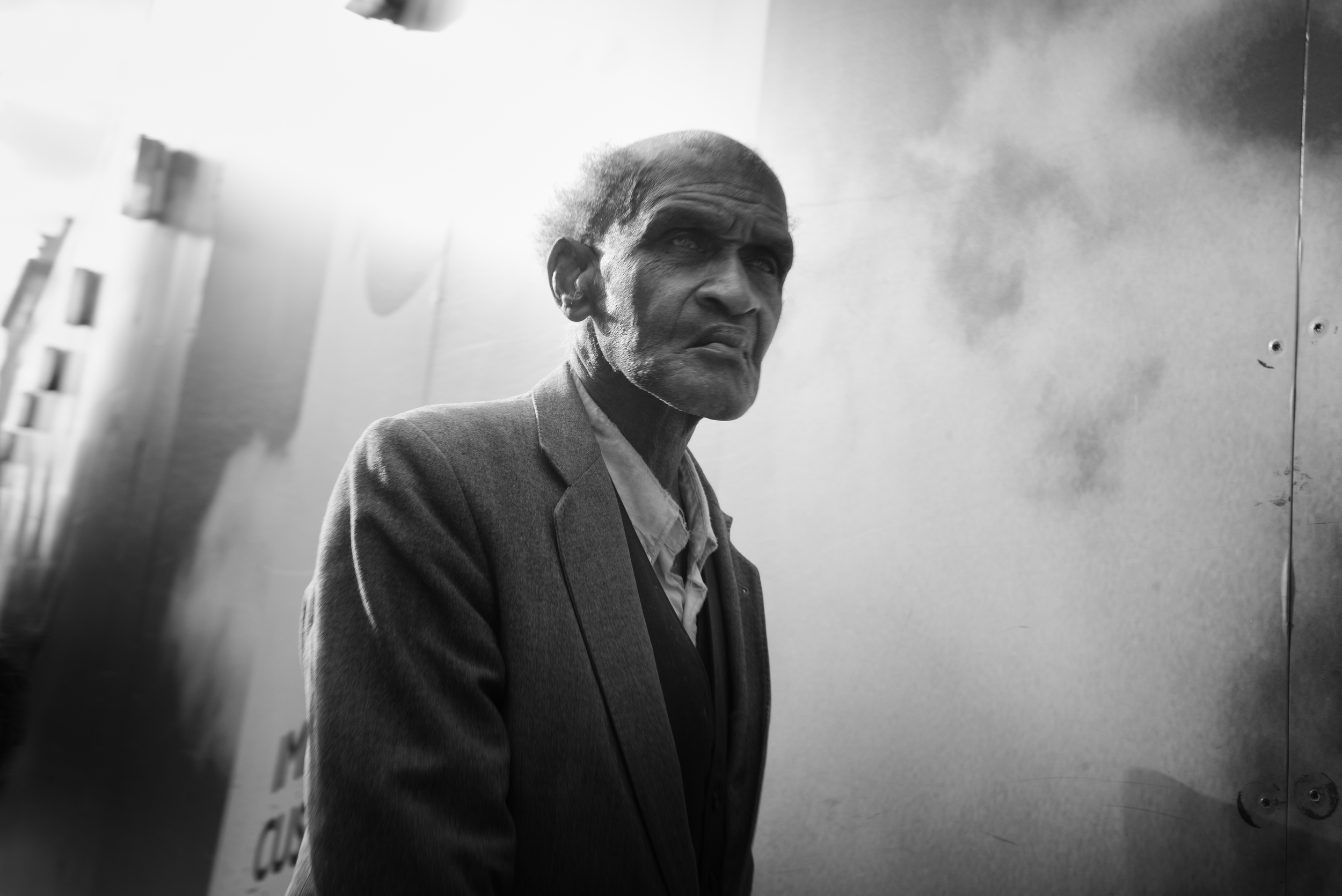 The old man, London, 2015