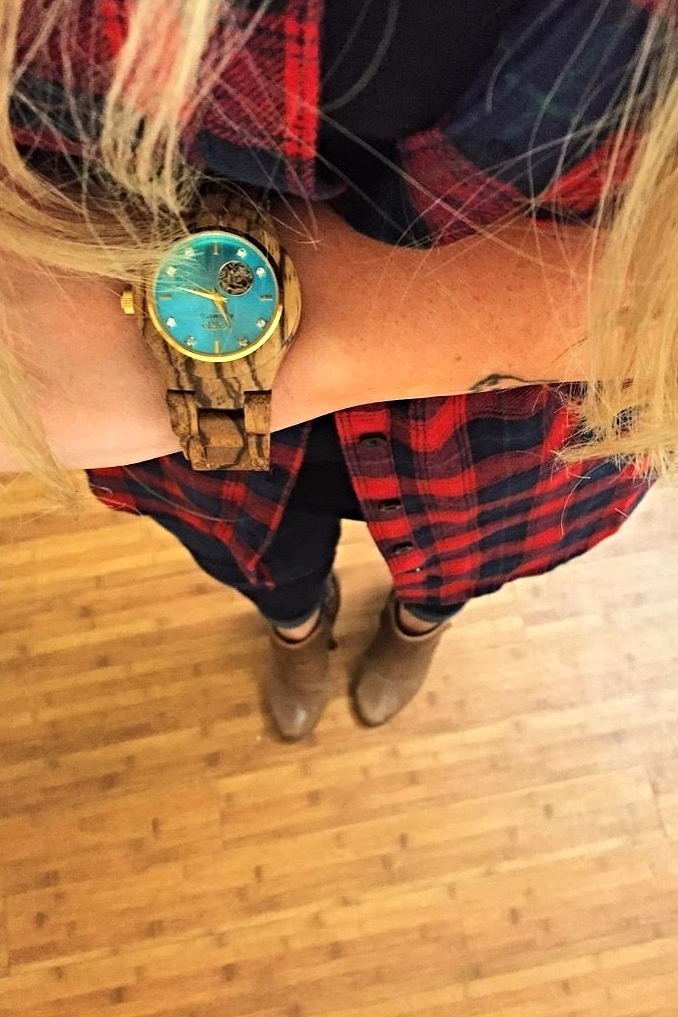 The perfect compliment to my fall lumberjack style.