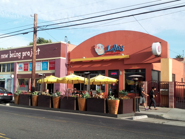 Lola's Mexican Cuisine in the historic 4th Street Business District