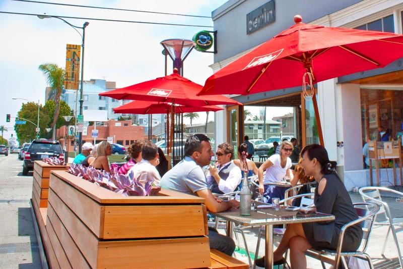 Berlin Bistro in Long Beach's historic East Village neighborhood.