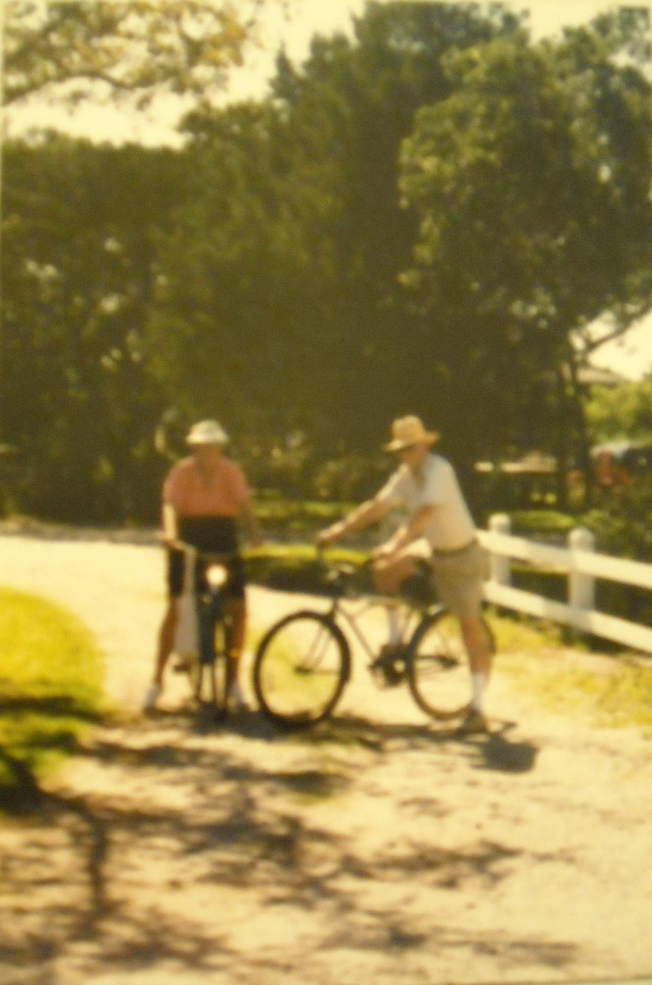 Heymama and Papa on their 50th Wedding Anniversary, Ocracoke Island, NC