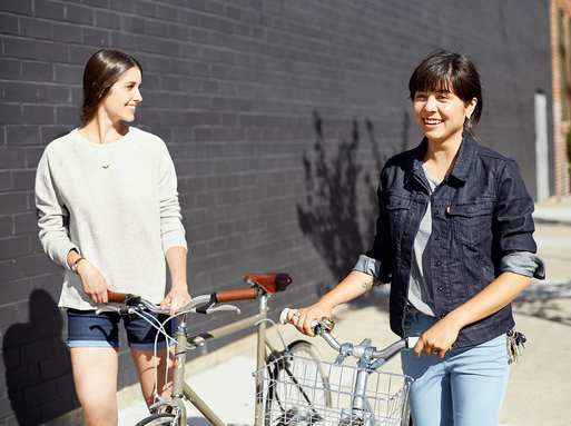 Image: From new commuter line for women from Levi's.
