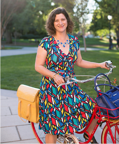 "Pedal Love Council member Janet Lafleur of the   ""One Woman Many Bikes""   blog, founder of   ""Bike to Shop Day""  , and member of the California Bicycle Coalition's Board of Directors featured in Momentum Magazine's Bike Style for May/June 2015."
