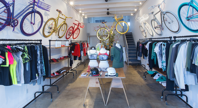The Martone Cycling Co. April 2016 Pop Up Shop in LA. Image from   The Style of Sport  .