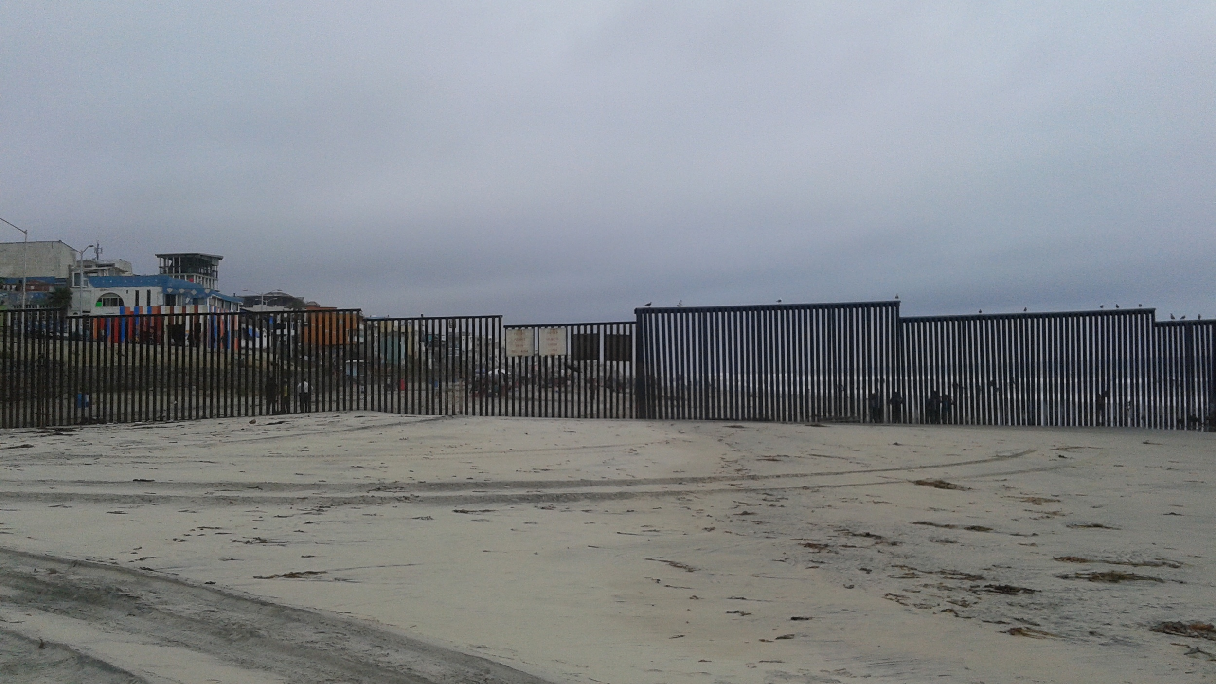 US-Mexico Border at Tijuana