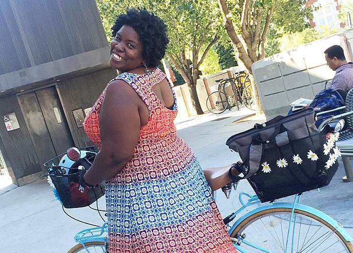 Renee Moore & Washington Area Bicycle Advocates
