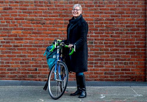 Barb Chamberlain profiled Jan 30, 2019 in Crosscut. Image by Dorothy Edwards.