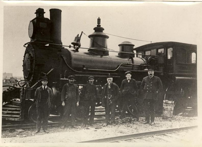 Salisbury and Albert Railway Engine No. 4 1908 Albert, New Brunswick, Canada