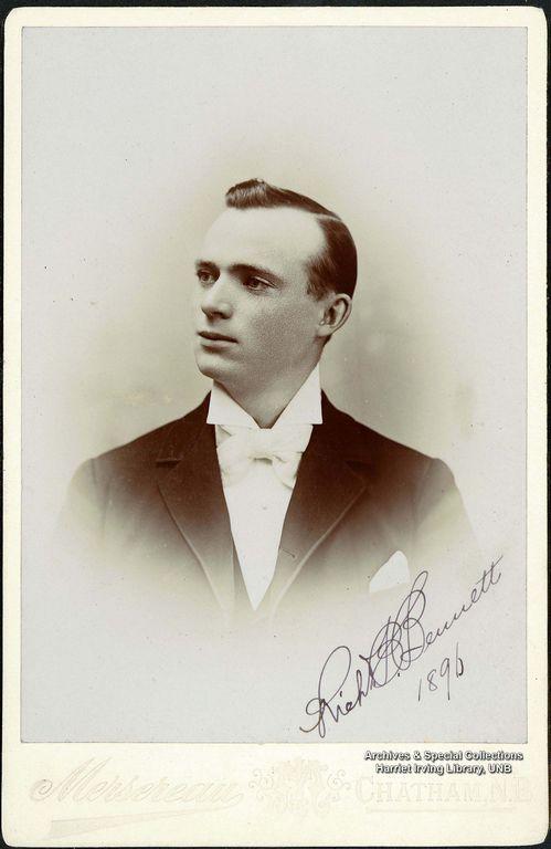 Richard Bedford Bennett   1896   Chatham, New Brunswick, Canada
