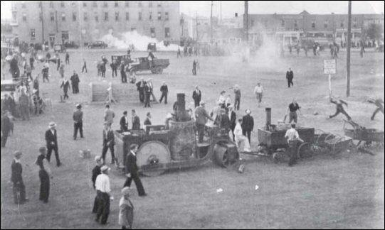 Regina Riot 1 July 1935 Regina, Saskatchewan, Canada