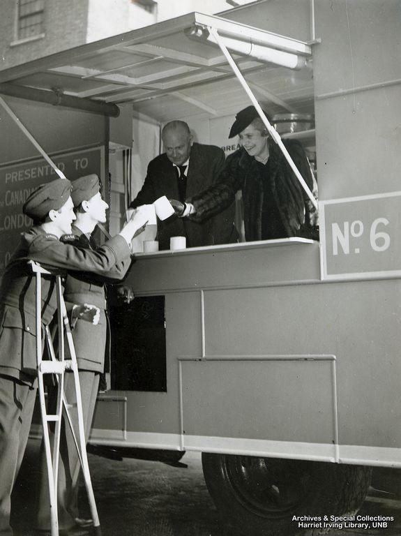 R.B. Bennett with Lady Bessborough Circa 1942 England