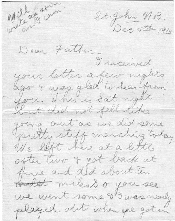 Dec. 5, 1914  Hugh Wright letter Pg 1.jpg