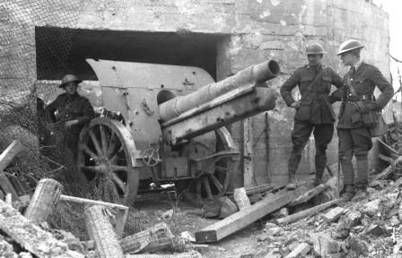 Captured German Cannon Vimy Ridge