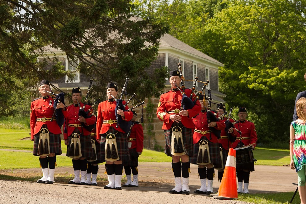 RCMP Pipes and Drums in parade.jpg
