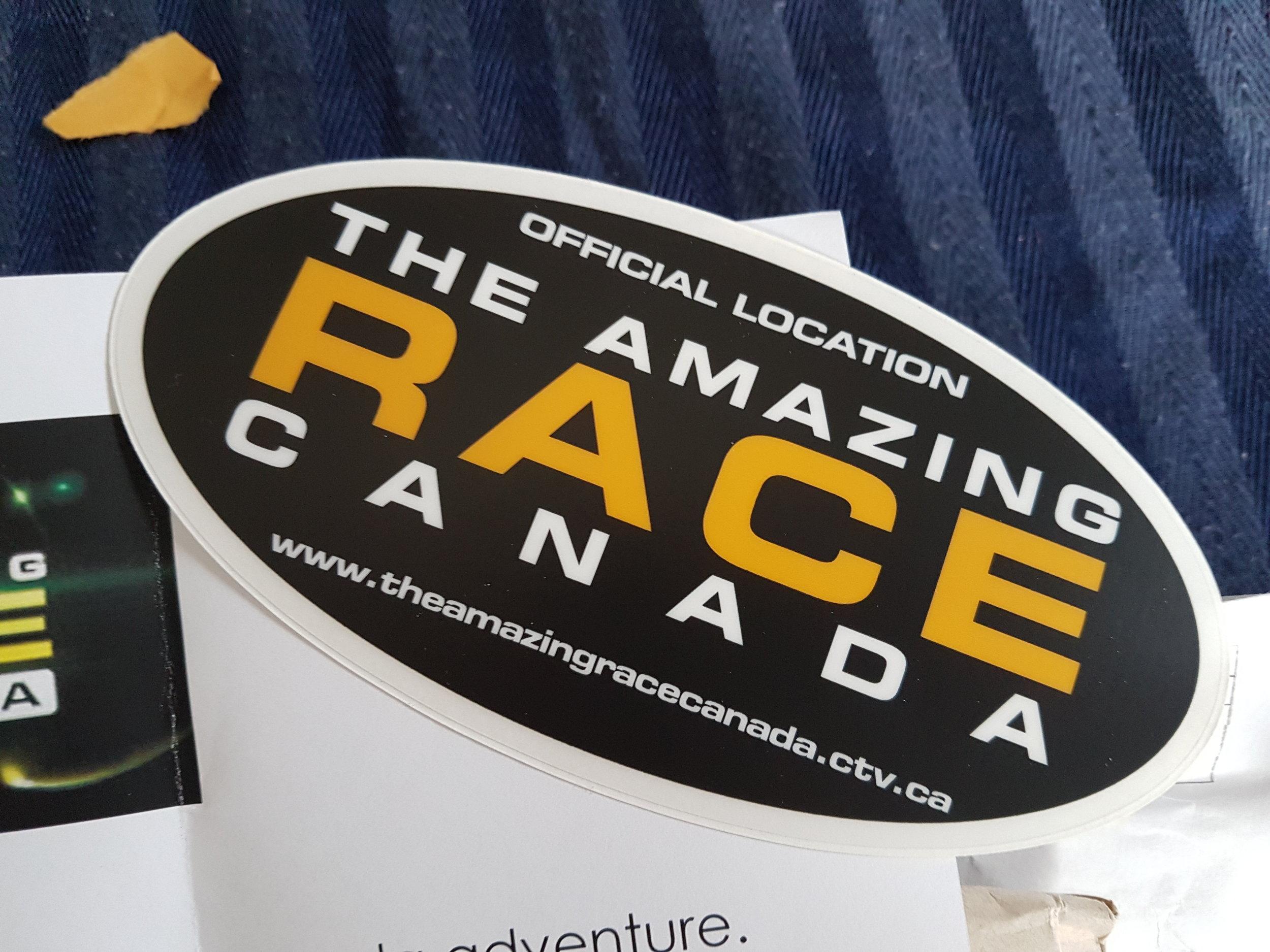 Amazing Race Canada Sticker
