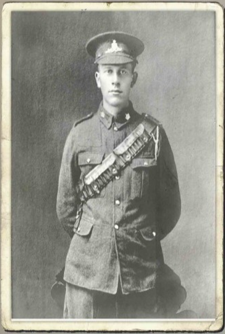Carl Clinton Irving, 4062755, was from Hillsborough, Albert County, New Brunswick and was born April 15, 1896 at HIllsborough, New Brunswick. He was the son of Mr. Sanford and Mrs. Margaret Irving, of Hillsborough, N.B.. He was drafted in 1917 to the 1st Depot Battalion Moncton on Seprtember 20, 1917. He was listed as Died in Hospital due to epidemic influenza on October 21, 1918. He is buried at Baltimore (United Baptist) Church Cemetery, New Brunswick, Canada, On South side.