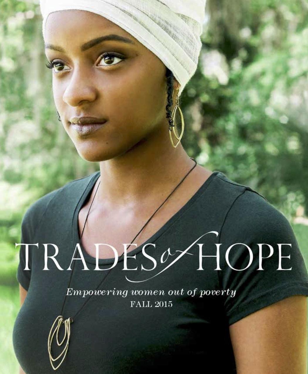 Trades of Hope catalog, Fall 2015