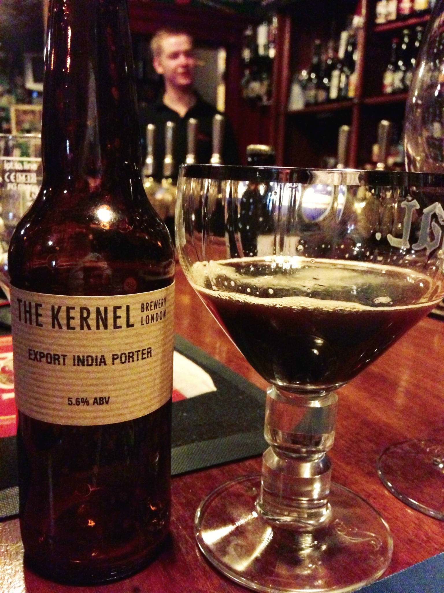The Kernel, a UK brewery to watch, they make excellent beer.