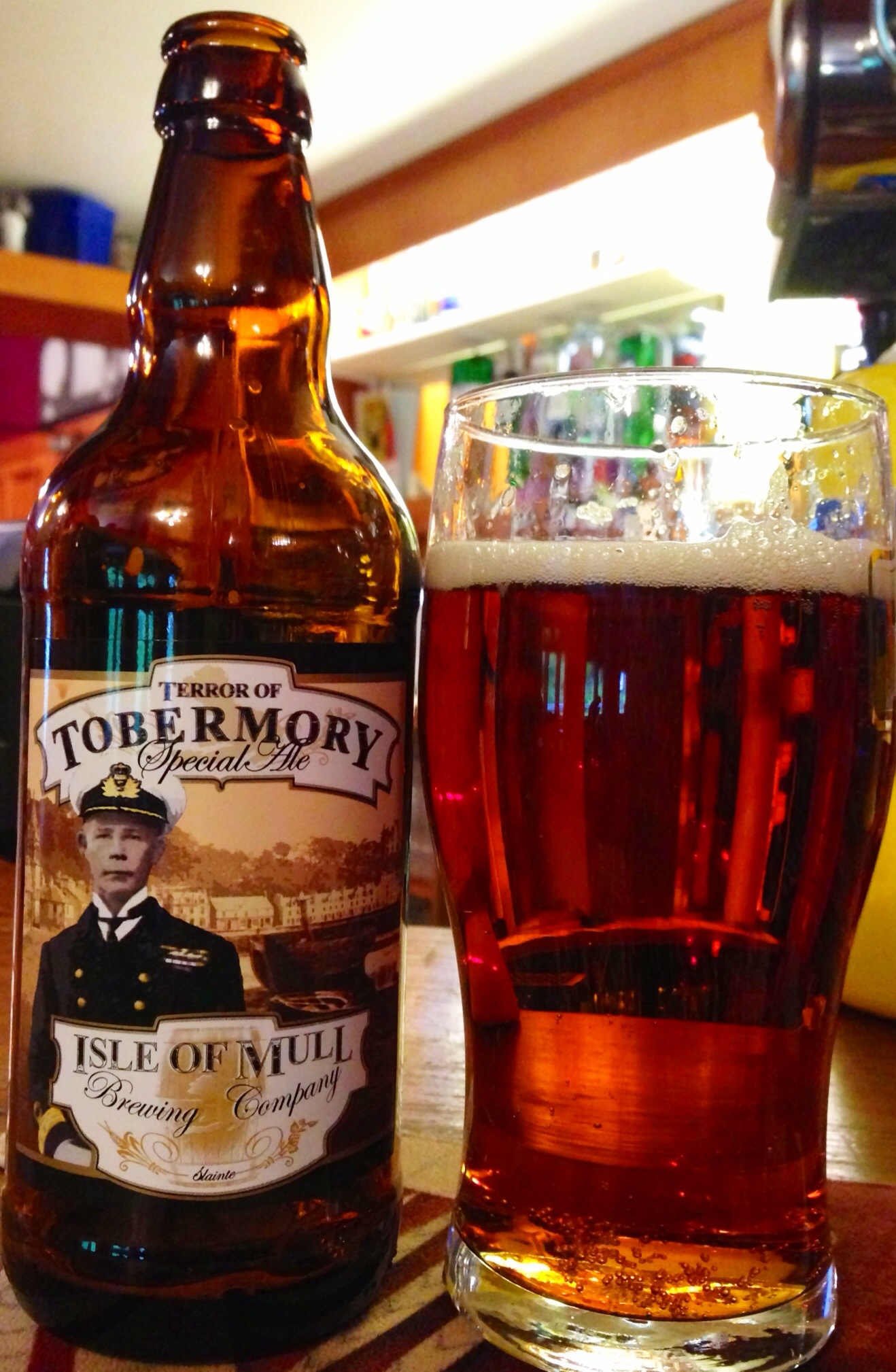 The Terror of Tobermory Special Ale, from the Isle of Mull