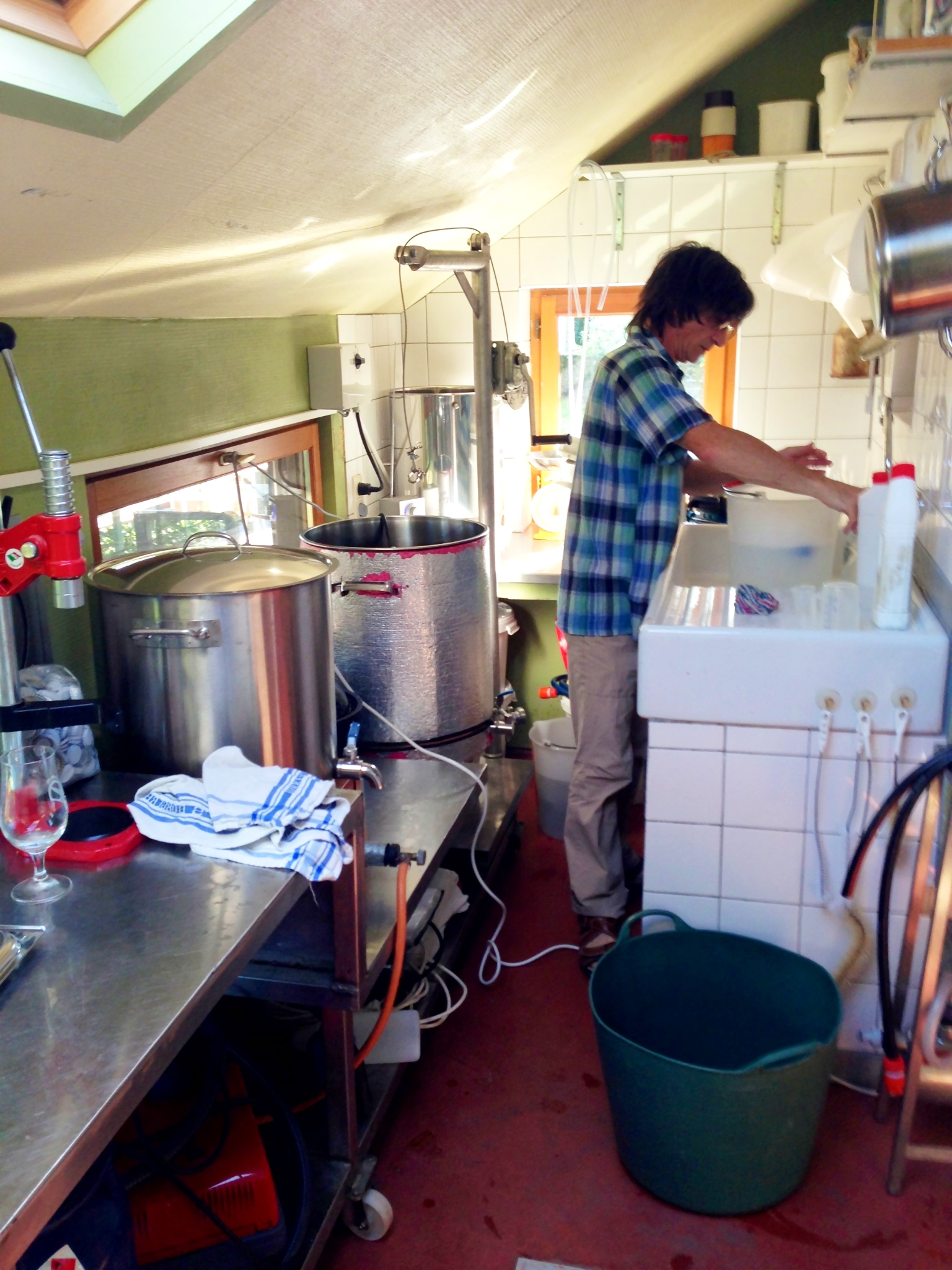 Pol of InterPol Brewry at La Vieille Forge