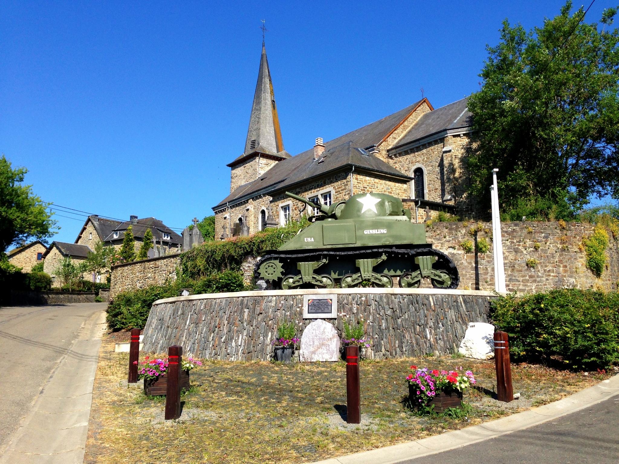WWII monument nearAchouffe