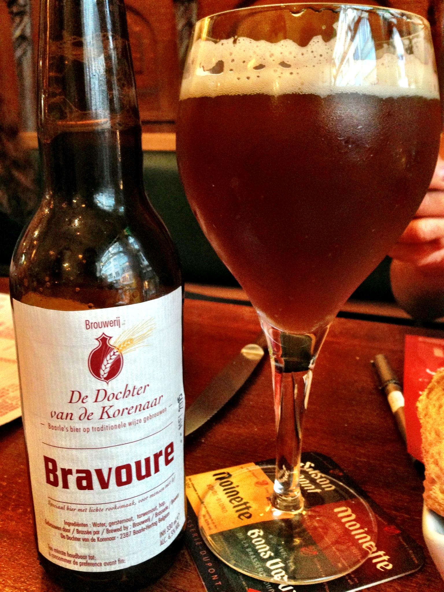 Bravoure Brouwerij De Dochter van de Korenaar, pairs great with a rich beef stew!