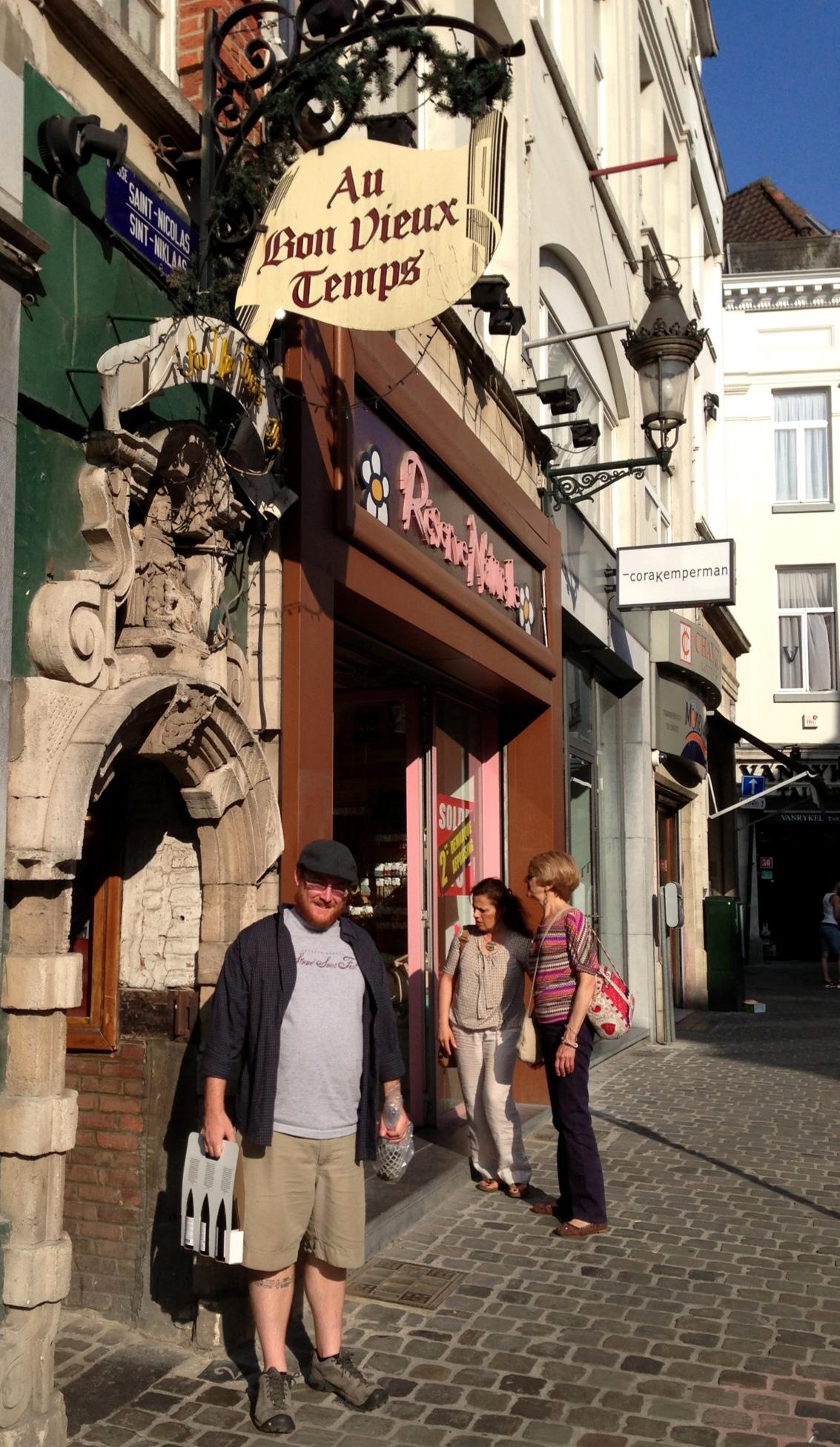 Au Bon Vieux Temps, Brussels