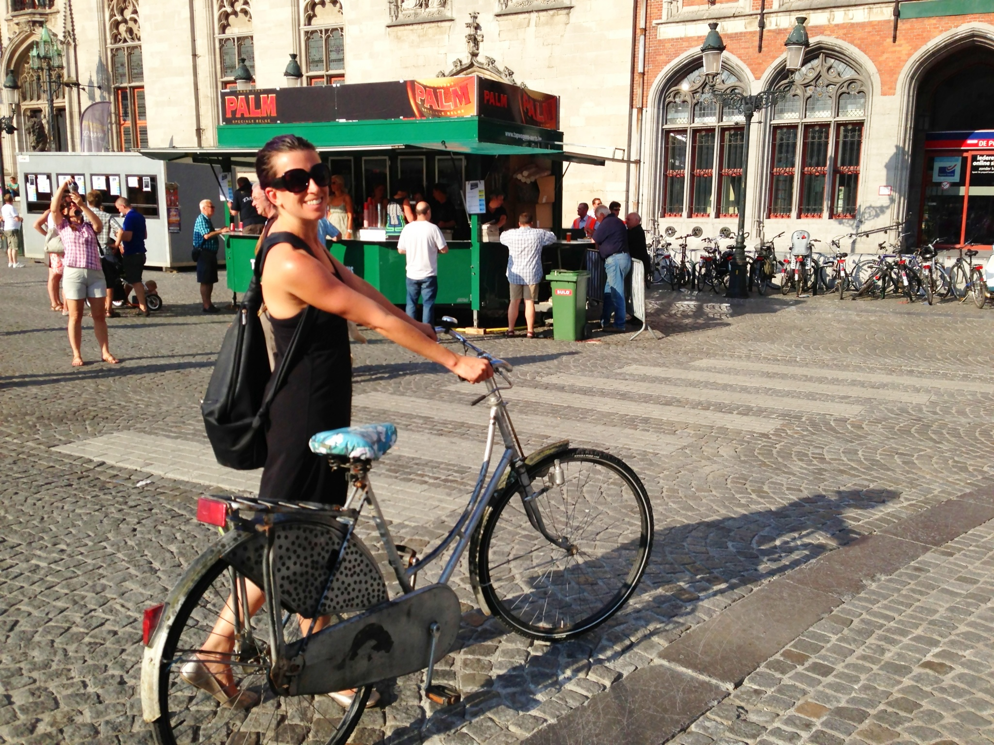 You need a bike in Bruges!