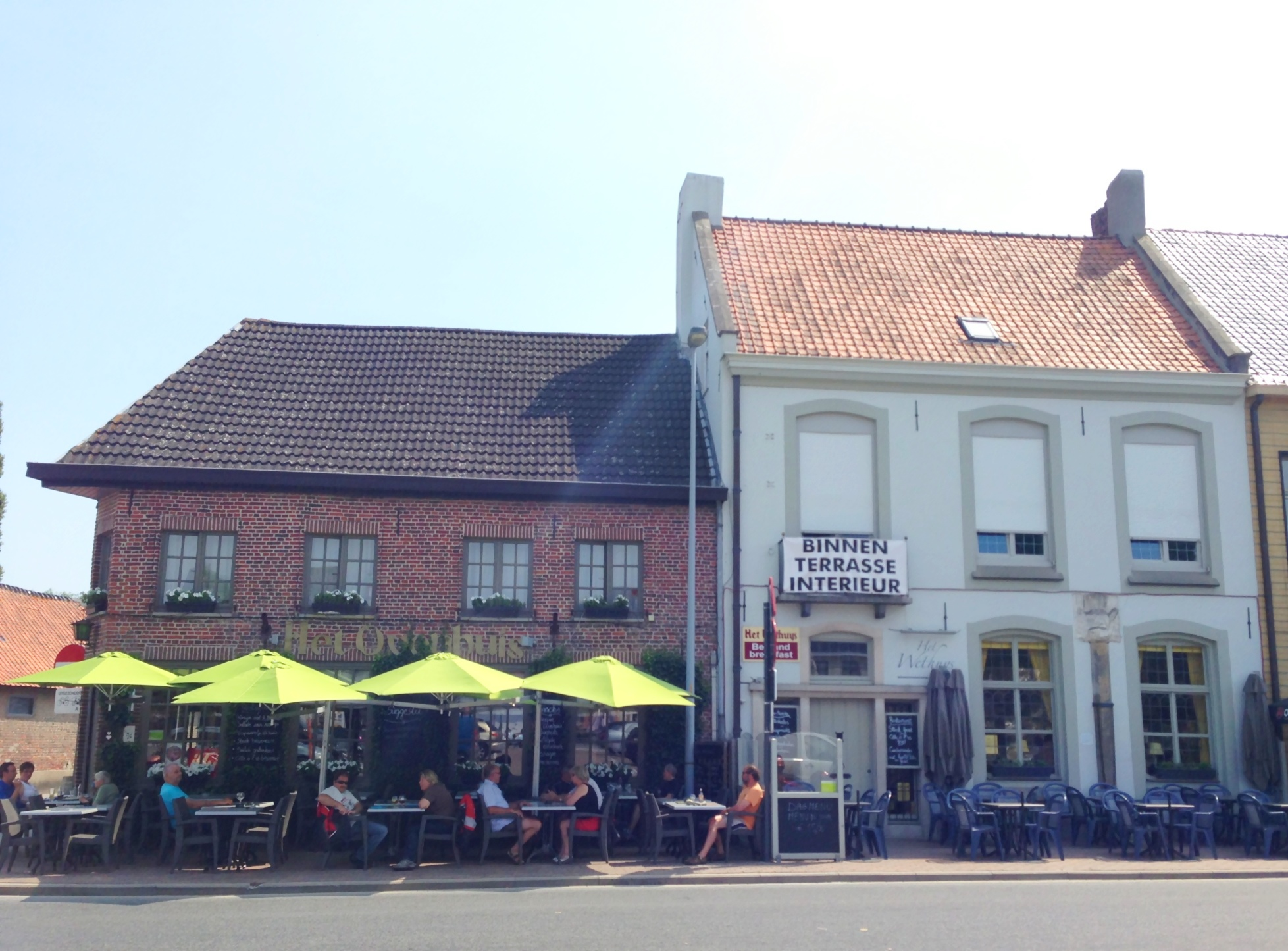 Cafe & inn owned by St. Bernardus Brewery