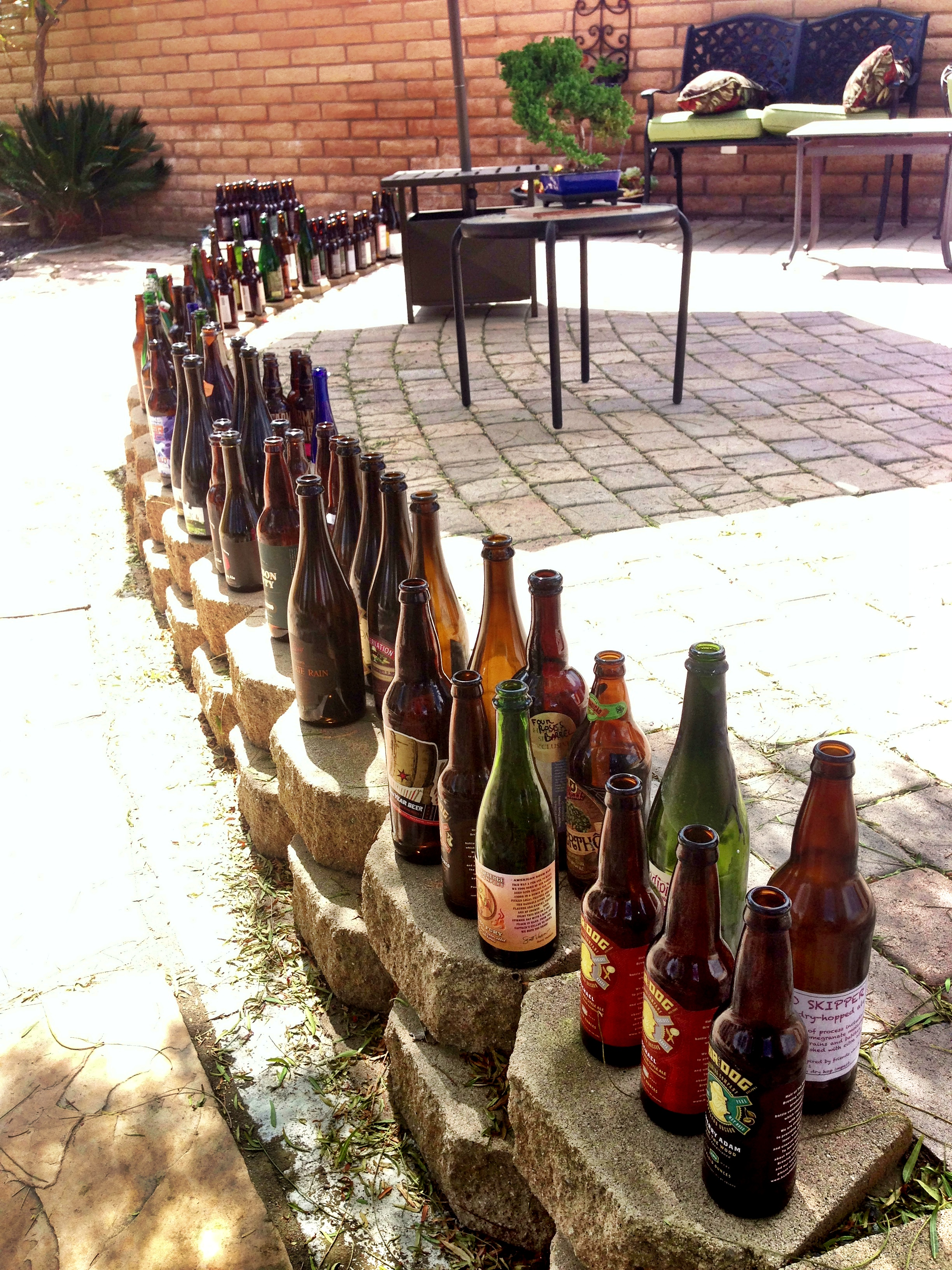 The epic San Diego bottle share
