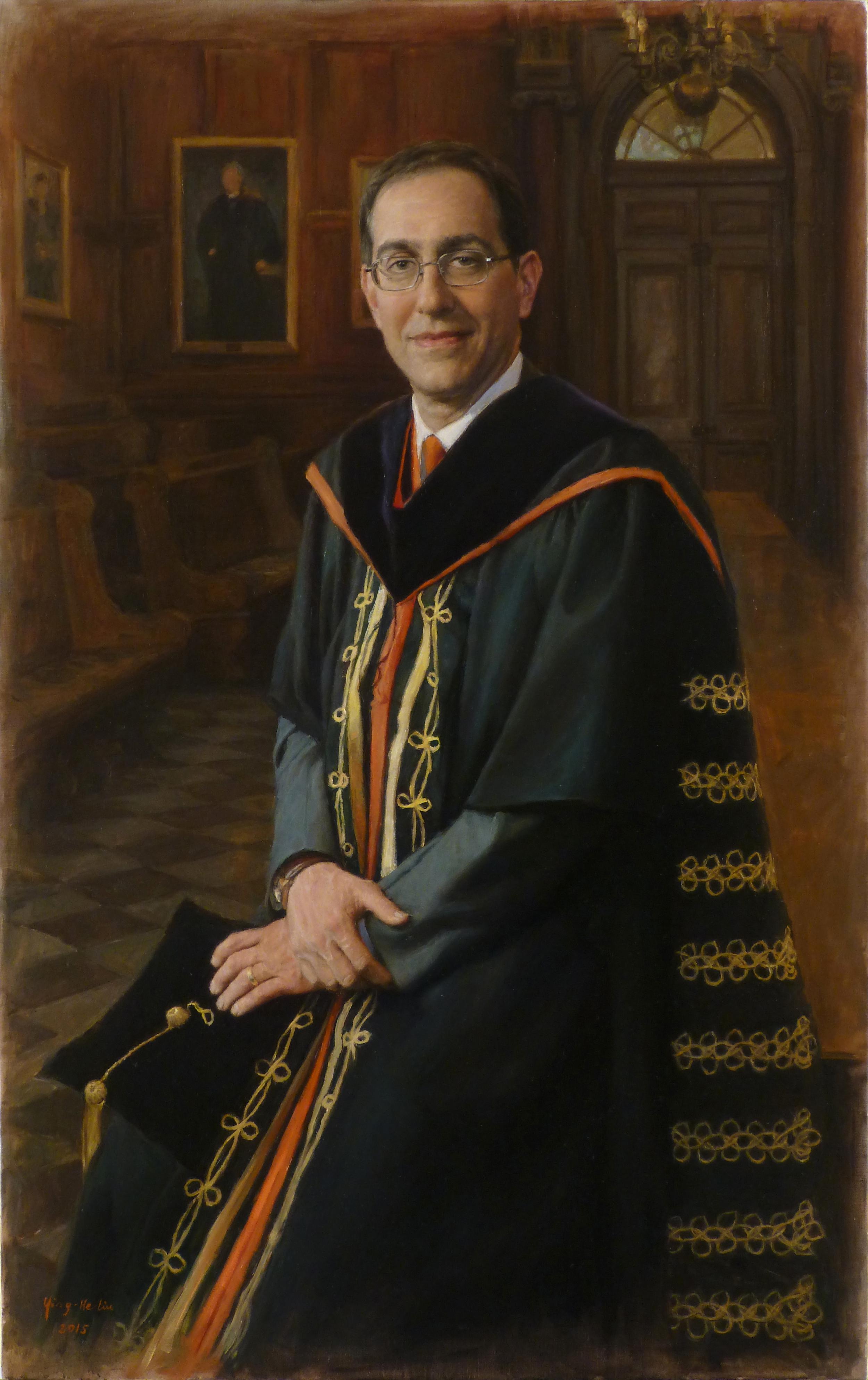 Dr. Christopher L. Eisgruber  President of Princeton University Collection of Princeton University